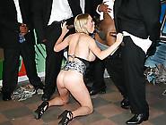 Booby Blonde Whore Krissy Lynn Sucks Many Black Dicks