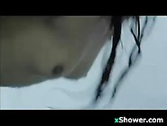 Wild Slut Fucking In The Showers