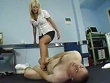 Ballbusting Woman