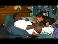 Big Black Guy Versus The Ghetto Bitch