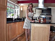 Gorgeous Mature Slut Teasing In The Kitchen