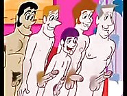 Gay Fuckers In A Cartoon Gay Fucking Each Other