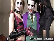 Jessica Jensen,  Tina Kay In The Joker'S Threesome Scene
