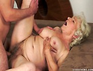 Old Granny Banged By Young Guy