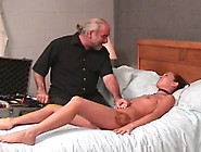 Clamps For Pussy And Chick Moans With Pain And Pleasure