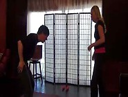 Rosie's First Time - Ballbusting Workout