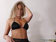 Interracial Blowbang With Britney Amber
