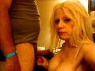 Sexy Blonde Barbie Blaze Gets A Hardcore Face-Fuck