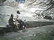 My Friend Was Able To Peek On Naughty Couple Fucking Outdoors
