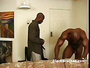 Black Gay Dude Gives Monster Cock A Deep Wet Blowjob