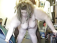 White Bbw Gets Doggystyle Fucked By A Bbc With Face To The Cam