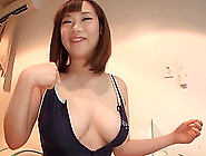 Wonderfully Curvaceous Japanese Mom Plays With A Dildo