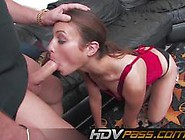 Raunchy Amber Rayne Devours A Big Cock And Squirts