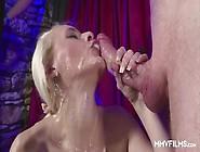 Mmv Films - German Babe Enjoys A Kinky Bukkake Group Sex Party