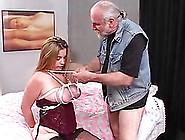 Chubby Girl Bondage