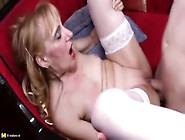 Fetching Mature Lady Attending In Amazing Blowjob Porn