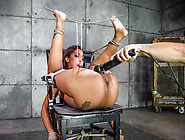 Sexy Ebony Minx Skin Diamond Tied Up And Teased