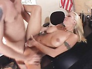 Bodacious Blonde Teacher Seduces A Student To Drill Her Aching P