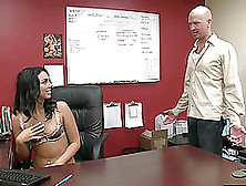 Tiffany Tyler Is A Kinky Secretary Who Loves To Fuck Hard