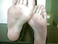2 Girls With 4 Sweaty And Smelly Feet
