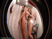 Girls In The Fitting Room Shop
