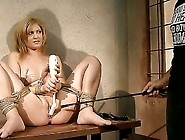 Amazing Blonde Girl Safira White Was Tied Up By Her Handsome Boy