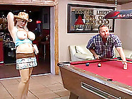 Chubby Milf Will Be Owned On That Pooltable