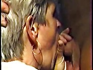 German Granny With Grey Hair Fucked Outdoor By A Men Pa