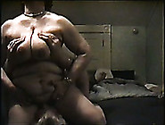 Extremely Chubby Wifey Of My Neighbor Is Caught Riding Fat Dude