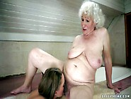 Granny Norma And Young Beauty Vicky