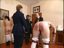 Restrained And Paddled Severely