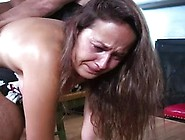 Savanna Got Spanked Hard Because She Was Being Very Bad Girl For