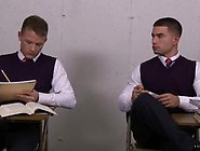 Schoolboys Brandon Wilde And Vadim Black Meet Up To Fuck In The