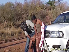 Chubby African Babe Fucked At My Safari