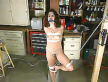 Slim Karina Ballerina Gets Tied Up And Humiliated