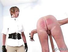 Man Has Arse Caned Until Raw