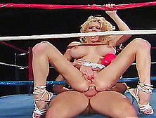 Alysin Embers Rides Her Partner's Fat Cock While Moaning Softly