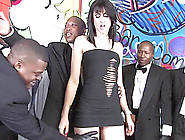 Sweet Amai Liu Sucks Too Many Black Cocks And Gets A Facial Cums