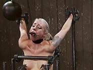 Blonde Lorelei Lee Playing The Sybian Inside Bound Vid