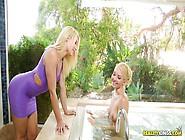 Blonde Lesbians In The Bathtub