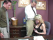 Sweet Tiffany Tanner Gets Fucked In Her Office Next To Her Her C