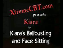 Bon Cbt Kiara's Ballbusting