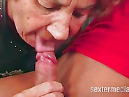Nasty Old Woman Is About To Have Group Sex For Her Birthday,  As