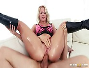 Pretty Buxomy Kimmy Olsen In Real Hard Fuck Video