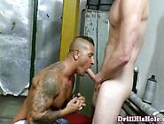 Muscular Beefcake Gets Fucked By Peg Boy