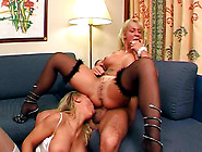 Michaela And Nancy Are Having Hardcore Anal Threesome Sex