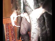 Transsexual As Fur Coat Sounds And Ejaculates