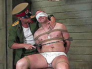 Muscled Guy Gets Tortured And Fucked By Soviet Officer
