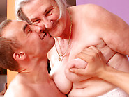 Toothless Granny Sucking Hard Cock