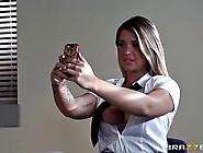 Slutty Busty Teacher Seduces Young Schoolmiss Jenna Ashley